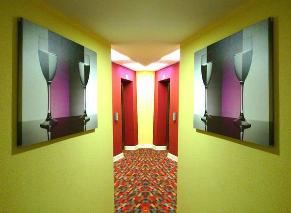Photograph - Colorful Corridor by Christopher Brown