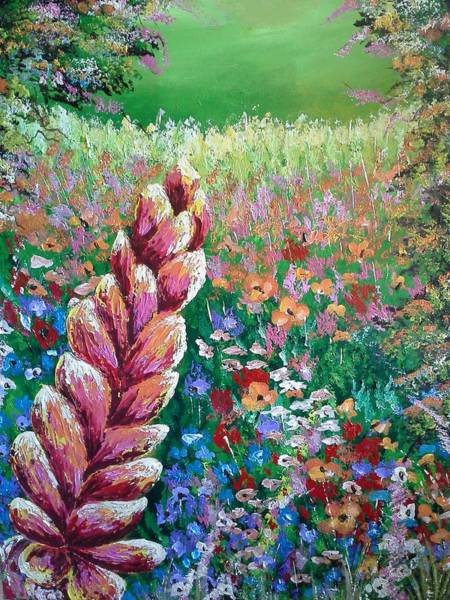 Painting - Colorful Day by Owen Lafon