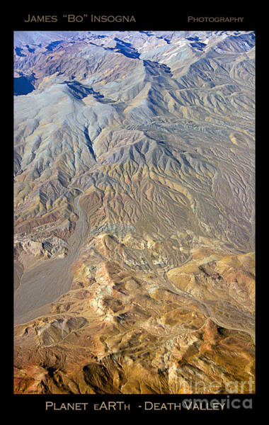 Photograph - Colorful Death Valley Desert - Planet Earth by James BO Insogna