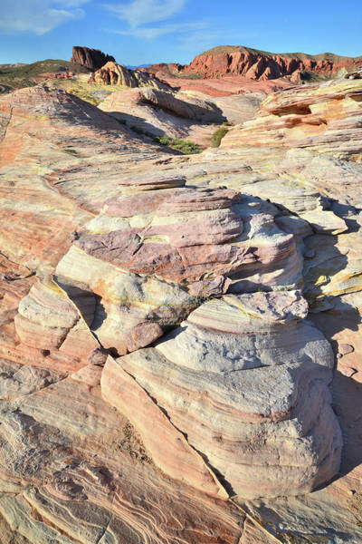 Photograph - Colorful Domes In Valley Of Fire by Ray Mathis
