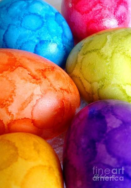 Photograph - Colorful Easter Eggs by E B Schmidt