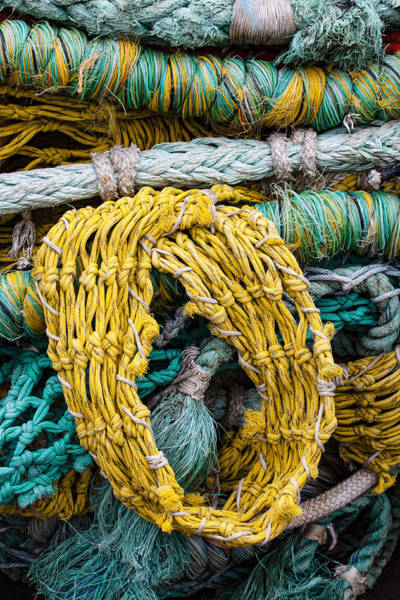 Wall Art - Photograph - Colorful Fishing Nets by Carol Leigh