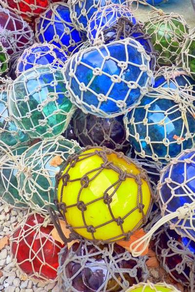 Wall Art - Photograph - Colorful Glass Balls by Carla Parris