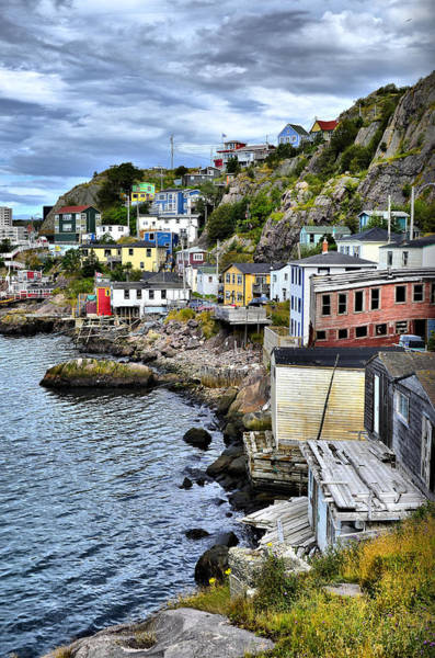 Newfoundland Photograph - Colorful Houses by Steve Hurt
