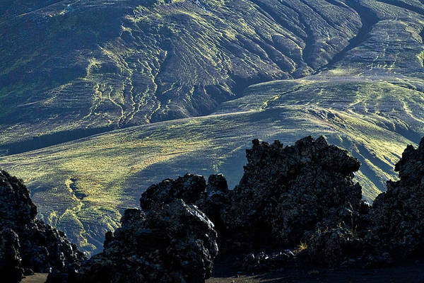 Wall Art - Photograph - Colorful Icelandic Mountains #3 by Stuart Litoff