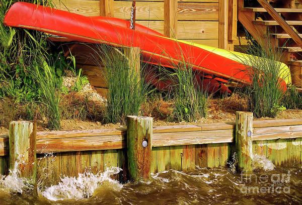 Wall Art - Photograph - Colorful Kayak Duo by Lois Bryan