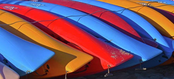 Photograph - Colorful Kayaks by Ken Stampfer