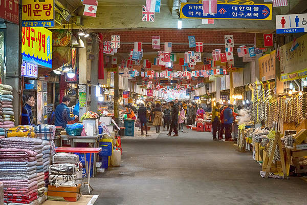 Photograph - Colorful Korean Marketplace by James BO Insogna