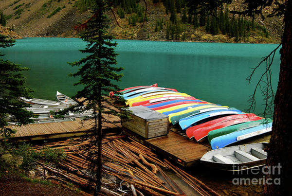 Cesar Wall Art - Photograph - Colorful Lake by Cesar Marino