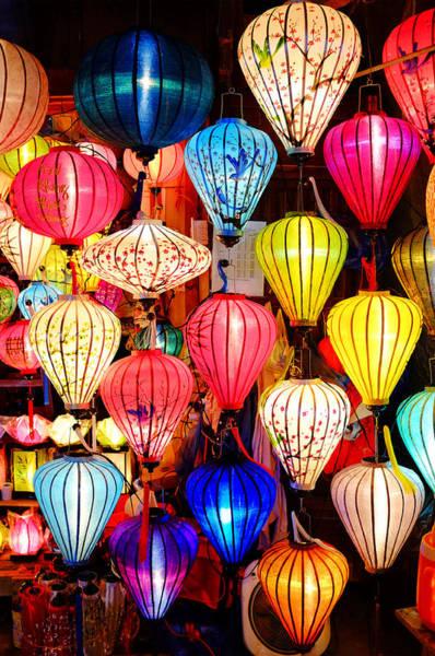 Photograph - Colorful Lanterns by Fabrizio Troiani