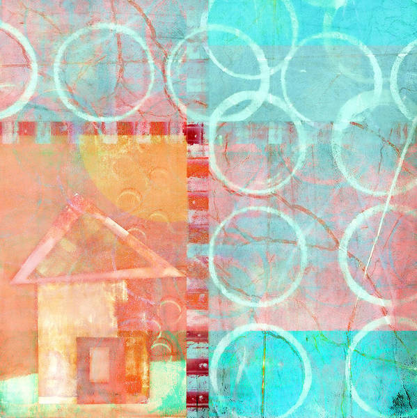 Bold Color Wall Art - Photograph - Colorful Little House 1 by Carol Leigh