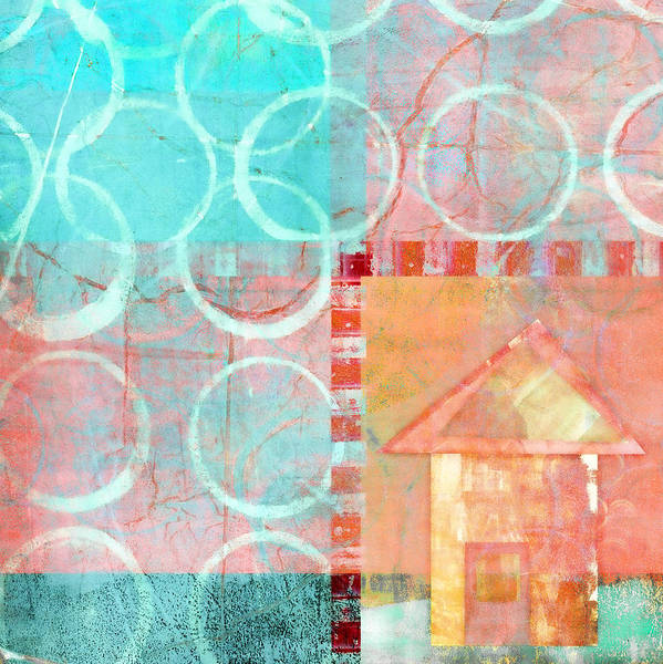 Bold Color Wall Art - Photograph - Colorful Little House 2 by Carol Leigh