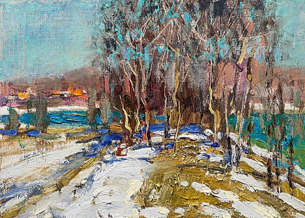Painting - Colorful March by Valentina Kondrashova