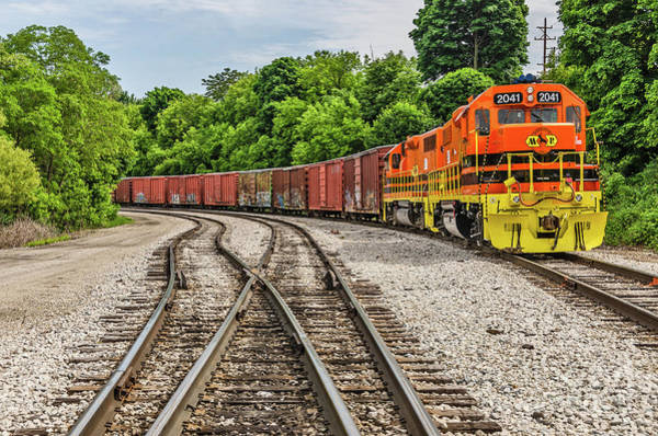 Photograph - Colorful Marquette Rail by Sue Smith