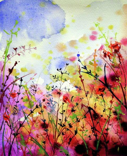 Wall Art - Painting - Colorful Mood II by Kovacs Anna Brigitta