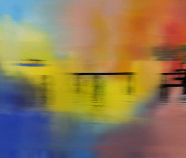 Wall Art - Painting - Colorful Panning Boat by Dan Sproul