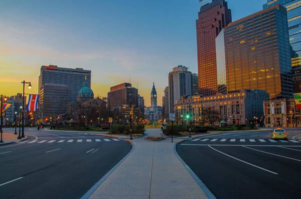 Wall Art - Photograph - Colorful Philadelphia Morning by Bill Cannon