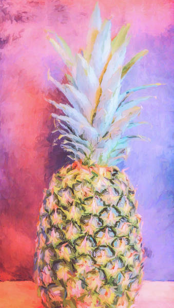 Photograph - Colorful Pineapple by Andrea Anderegg