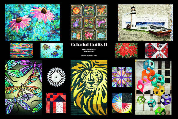 Photograph - Colorful Quilts II by Chris Cone