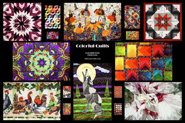 Photograph - Colorful Quilts by Van Sutherland