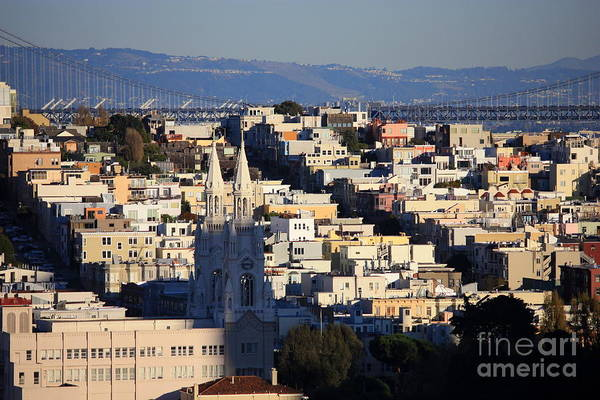 Photograph - Colorful San Francisco by Carol Groenen