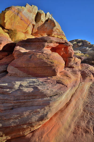 Photograph - Colorful Sandstone Of Pastel Canyon - Valley Of Fire by Ray Mathis