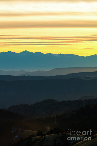 Photograph - Colorful Sangre De Cristo Winter Sunset by Steve Krull