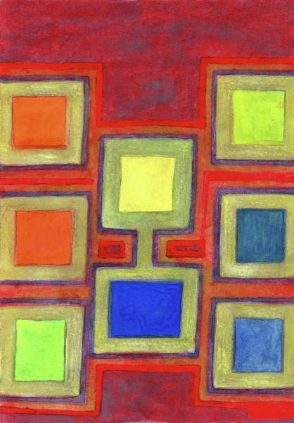 Similar Painting - Colorful Screens On The Shelf by Heidi Capitaine