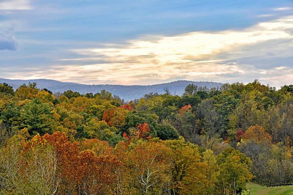 Wall Art - Photograph - Colorful Shenandoah Valley Autumn - Virginia by Brendan Reals