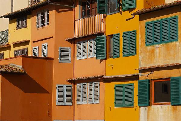 Photograph - Colorful Shops And Shutters by Patricia Strand