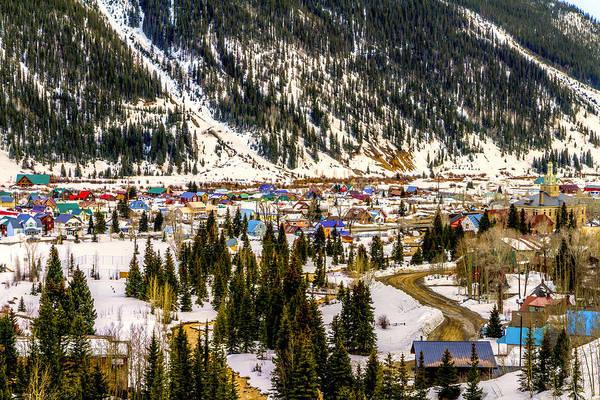 Photograph - Colorful Silverton Colorado by TL  Mair