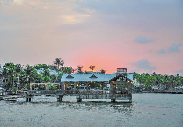 Photograph - Colorful Skies At Key West by Bill Cannon