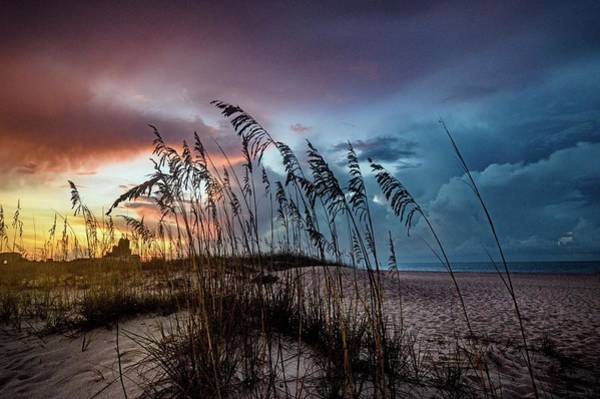 Digital Art - Colorful Sky At Dawn Dsc_0220 by Michael Thomas