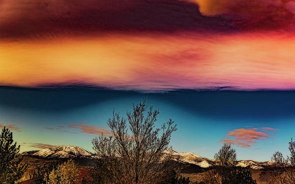 Wall Art - Photograph - Colorful Sky by Nancy Marie Ricketts