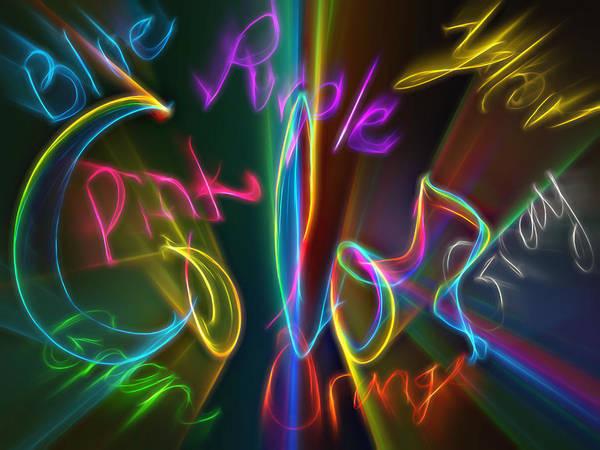 Description Digital Art - Colorful by Steve Ohlsen