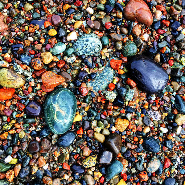 Photograph - Colorful Stones Viii by Cristina Stefan