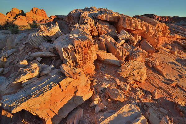 Photograph - Colorful Sunrise On Valley Of Fire by Ray Mathis