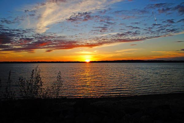 Photograph - Colorful Sunset by Mike Murdock