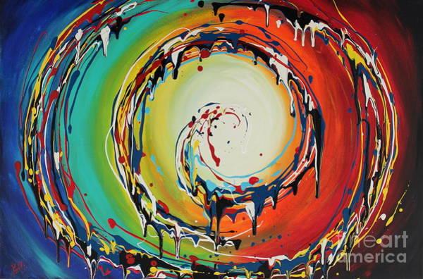 Colorful Swirls Art Print