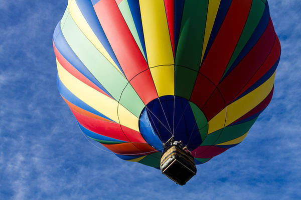 Photograph - Colorful Take Off by Teri Virbickis