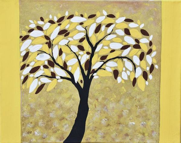 a63ae91c4836a1 Turquise Wall Art - Painting - Colorful Trees Painting -modern Tree Acrylic  Painting- Image