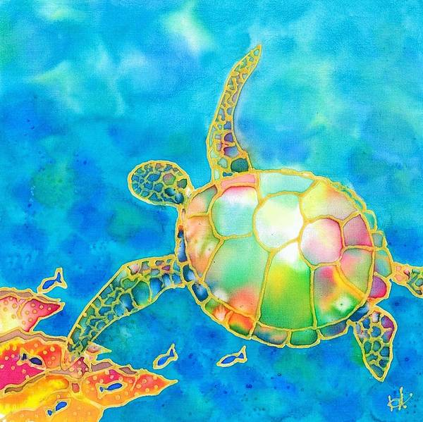 Painting - Colorful Tropics 11 by Hisayo Ohta