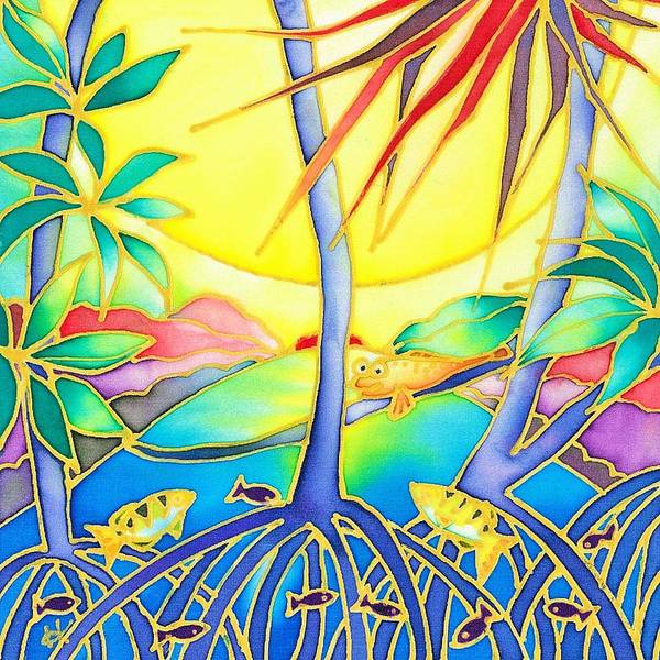 Painting - Colorful Tropics 8 by Hisayo Ohta