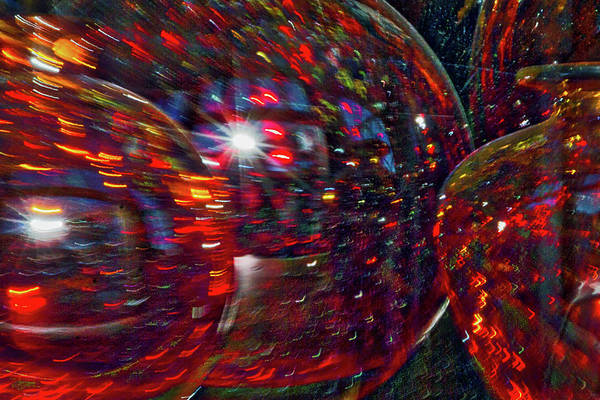 Photograph - Colorful Vases Abstract by Stuart Litoff