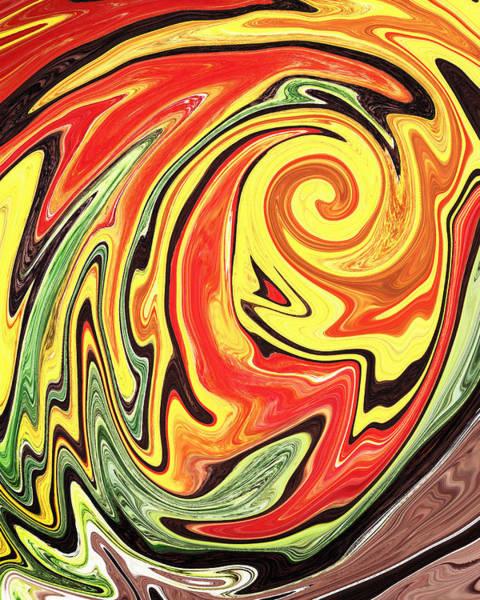 Painting - Colorful Vortex By Irina Sztukowski by Irina Sztukowski