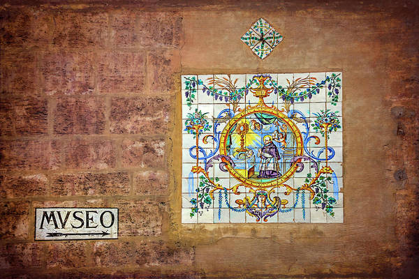 Wall Art - Photograph - Colorful Wall Mosaic In Valencia Spain  by Carol Japp