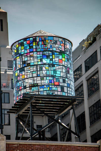 Photograph - Colorful Water Tank By Tl Wilson Photography by Teresa Wilson