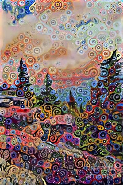 Woodland Park Mixed Media - Colorful Wilderness  by Douglas Sacha