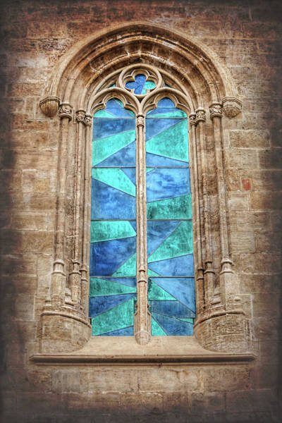 Wall Art - Photograph - Colorful Window Old Town Valencia Spain  by Carol Japp