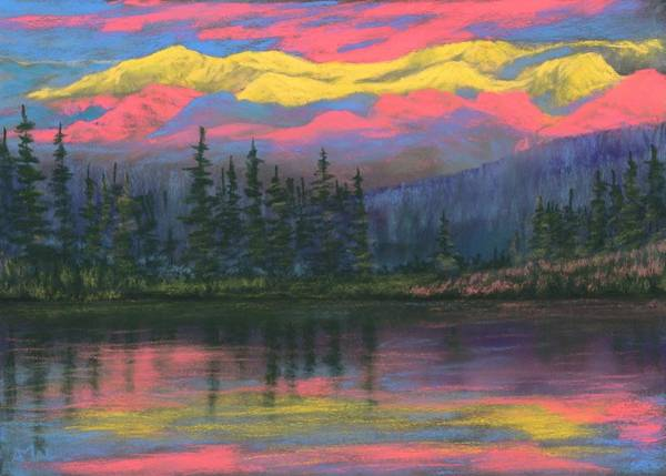 Painting - Colorful World by Anastasiya Malakhova